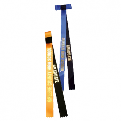 customizable graduation ribbon